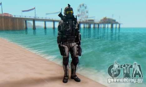 C.E.L.L. Soldier (Crysis 2) для GTA San Andreas второй скриншот