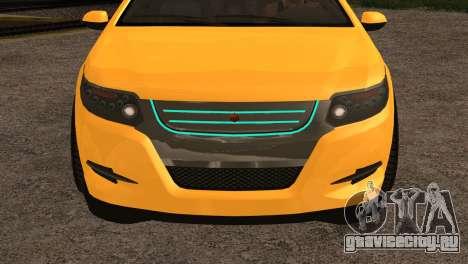 Cheval Surge 1.1 (IVF) для GTA San Andreas вид справа