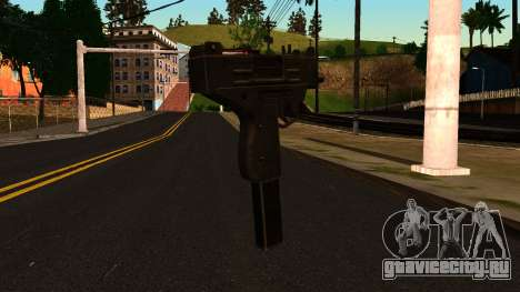 Micro SMG from GTA 4 для GTA San Andreas второй скриншот