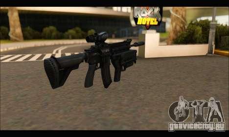 HK416 M320 Devgru для GTA San Andreas второй скриншот