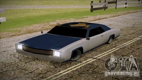 Buccaneer 2.0 для GTA San Andreas