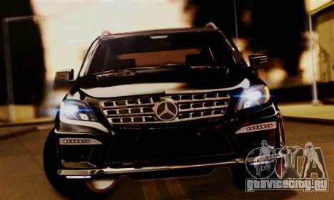 Mercedes-Benz ML63 AMG для GTA San Andreas вид справа