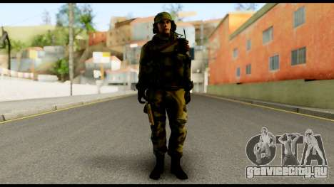 Engineer from Battlefield 4 для GTA San Andreas