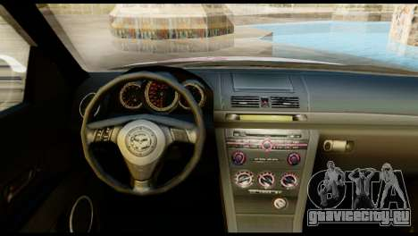 Mazda Speed 3 [Sakura Trick Itasha] для GTA San Andreas вид сзади слева