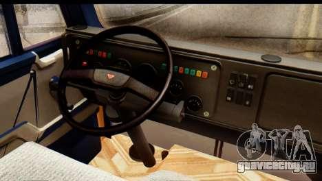 КамАЗ 65115 Снегоуборщик для GTA San Andreas вид сбоку