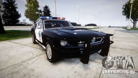 Ford Shelby GT500 Eleanor Police [ELS] для GTA 4