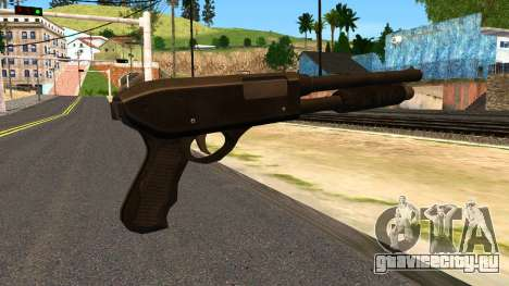 Combat Shotgun from GTA 4 для GTA San Andreas второй скриншот