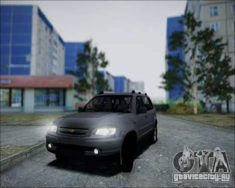 Chevrolet Niva для GTA San Andreas вид справа