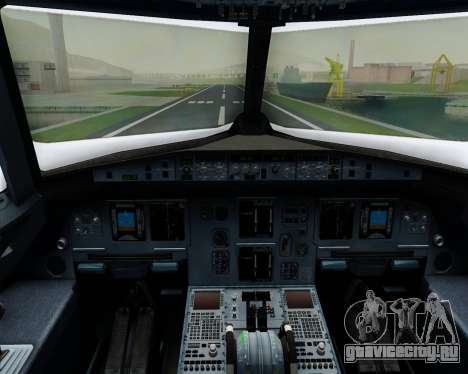 Airbus A320-200 Iberia Express для GTA San Andreas салон