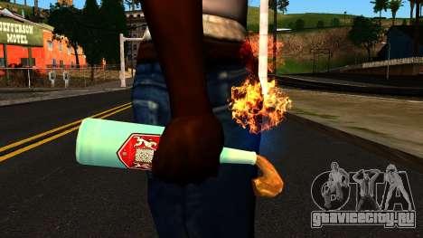 Molotov Cocktail from GTA 4 для GTA San Andreas третий скриншот