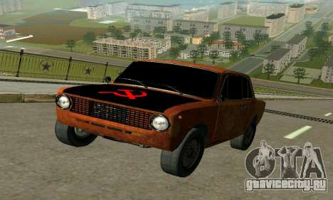 ВАЗ 2101 Ratlook v2 для GTA San Andreas вид слева
