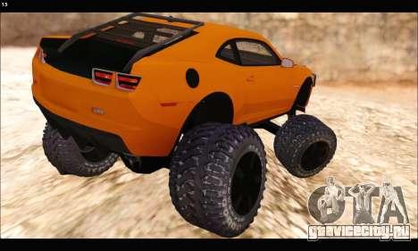 Chevrolet Camaro SUV Concept для GTA San Andreas вид справа