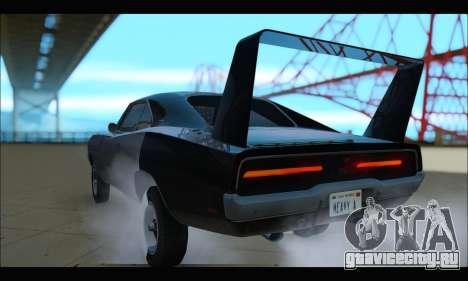 Dodge Charger RT для GTA San Andreas вид справа