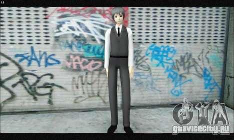 Kaneki Ken (Tokyo Ghoul) для GTA San Andreas второй скриншот