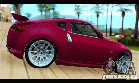 Nissan 370Z 2010 Stanced для GTA San Andreas вид слева