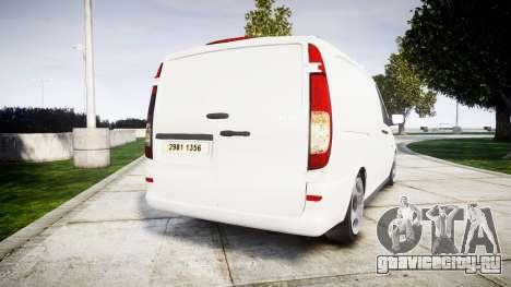 Mercedes-Benz Vito GIGN [ELS] для GTA 4 вид сзади слева