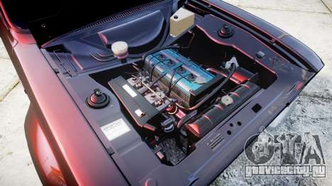 Ford Escort Mk1 для GTA 4 вид сзади