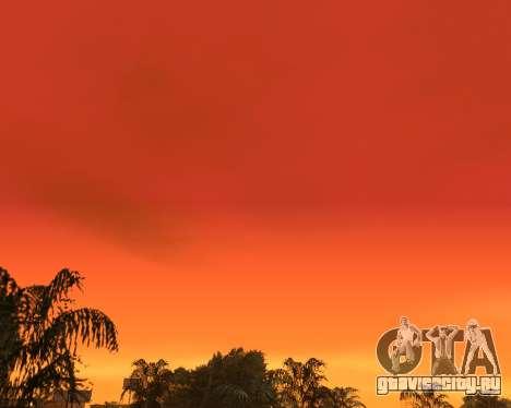 Реалистичное небо (Sky Mod) для GTA San Andreas третий скриншот