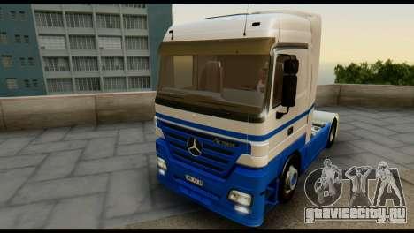 Mercedes-Benz Actros PJ1 для GTA San Andreas вид сверху
