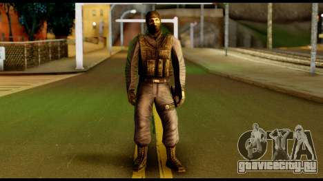 Counter Strike Skin 4 для GTA San Andreas