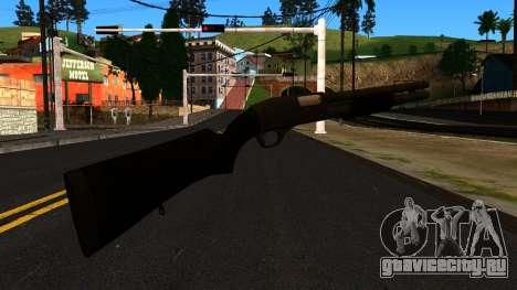 Чёрный MP-133 с Блеском для GTA San Andreas второй скриншот