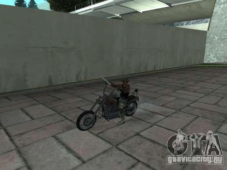 Angel GTA 4 TLaD для GTA San Andreas вид справа