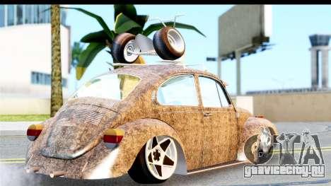 Volkswagen Beetle Vosvos 1973 для GTA San Andreas вид слева