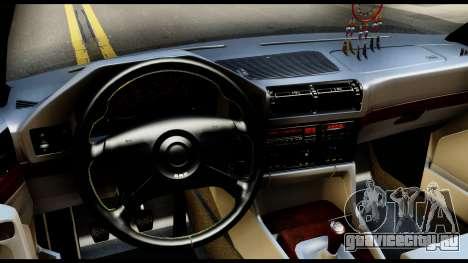 BMW E32 для GTA San Andreas вид сзади слева