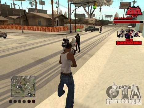 C-HUD Raisers для GTA San Andreas четвёртый скриншот