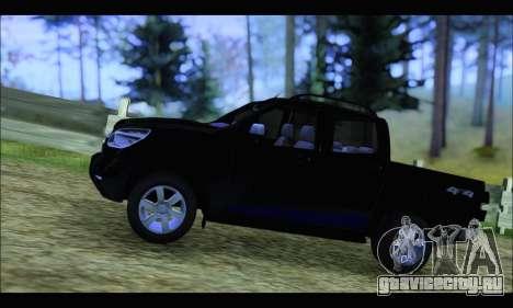Chevrolet S10 LTZ 2014 для GTA San Andreas вид слева