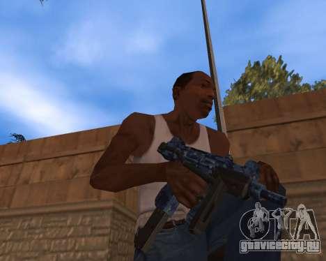 Новогодний Weapon Pack для GTA San Andreas третий скриншот