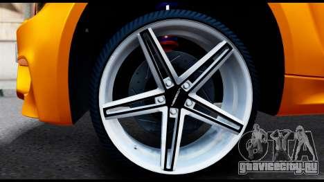 BMW M1 для GTA San Andreas вид сзади слева