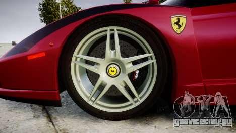 Ferrari Enzo 2002 [EPM] Stripes для GTA 4 вид сзади