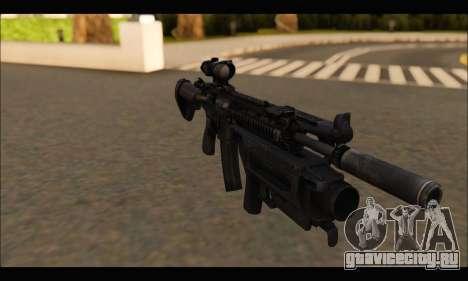HK416 M320 Devgru для GTA San Andreas третий скриншот