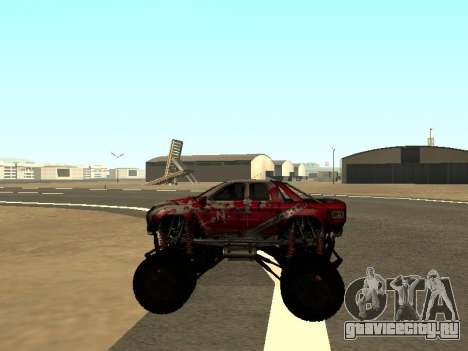 SuperMotoXL Zen MaXXimus CD 17.1 XL-HT для GTA San Andreas вид изнутри