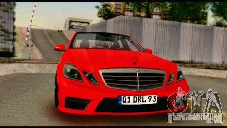 Mercedes-Benz E250 для GTA San Andreas
