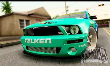 Ford Mustang Falken для GTA San Andreas