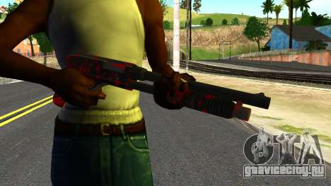 Shotgun with Blood для GTA San Andreas