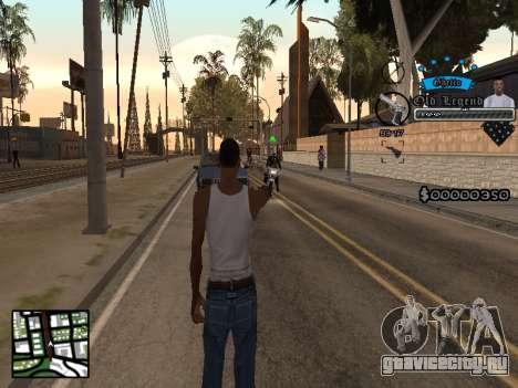 C-HUD Old Legend для GTA San Andreas второй скриншот