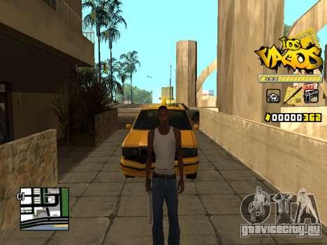 C-HUD Los Santos Vagos Gang для GTA San Andreas