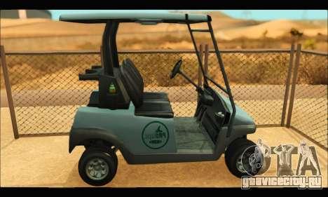 Caddy (GTA V) для GTA San Andreas вид слева