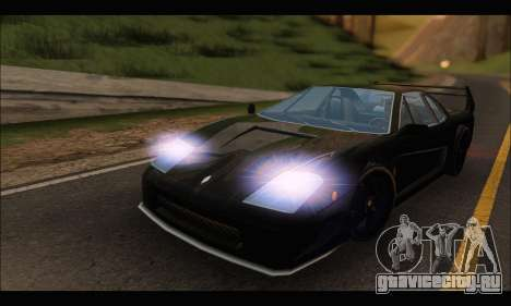 Turismo Limited Edition для GTA San Andreas вид слева