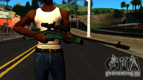 СВ-98 без Сошек и с Прицела для GTA San Andreas третий скриншот
