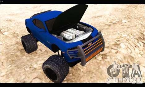 Chevrolet Camaro SUV Concept для GTA San Andreas вид сзади
