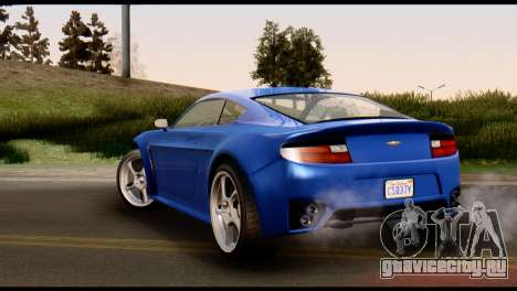 GTA 5 Dewbauchee Rapid GT Coupe [HQLM] для GTA San Andreas вид справа
