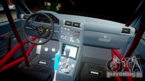 BMW E30 M3 для GTA 4 вид изнутри