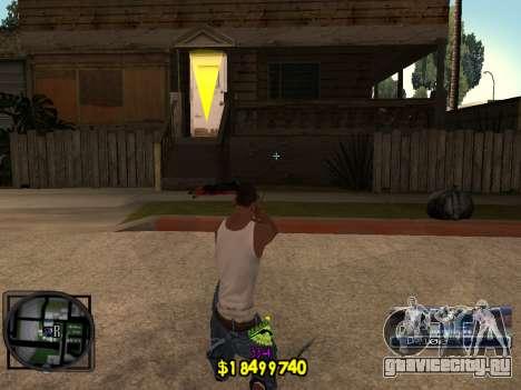 C-HUD Ghetto Life для GTA San Andreas второй скриншот