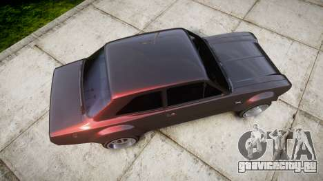 Ford Escort Mk1 для GTA 4 вид справа