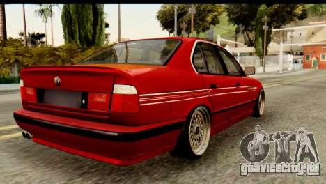 BMW M5 E34 Alpina для GTA San Andreas вид слева