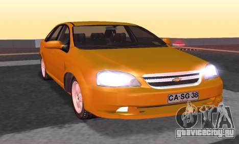 Chevrolet Lacetti для GTA San Andreas